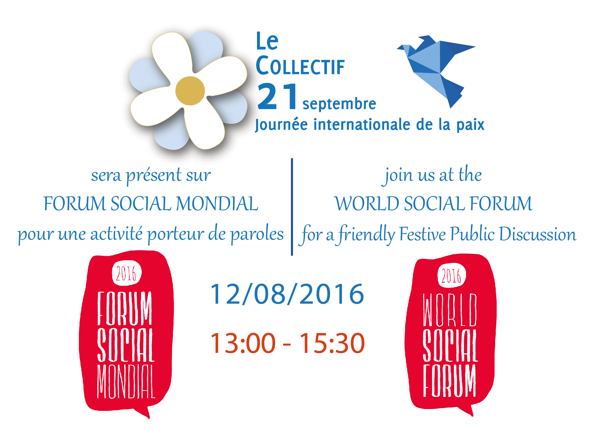 Le collectif 21 septembre - FSM 2016